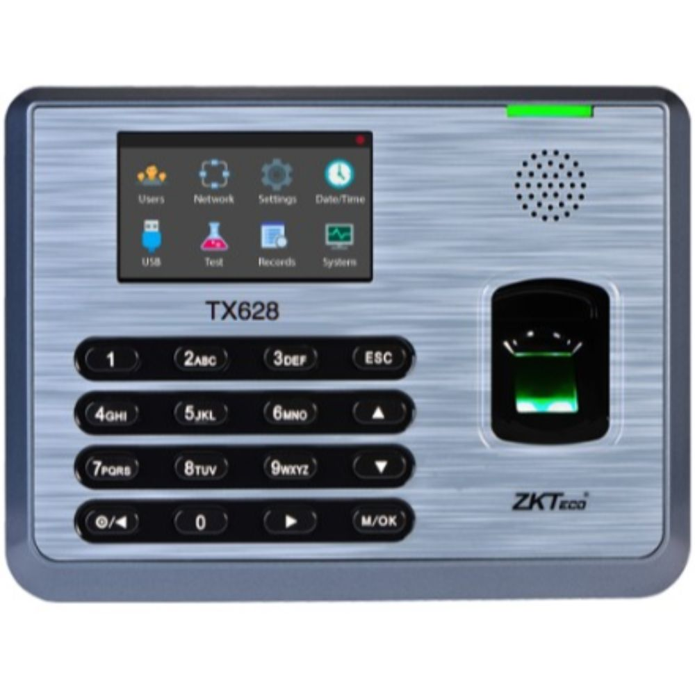 ZKTeco TX-628 Fingerprint Optical Sensor Access Control